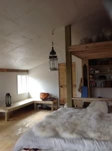 Barn Room facing north.