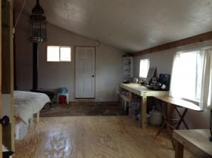Barn Room facing south.
