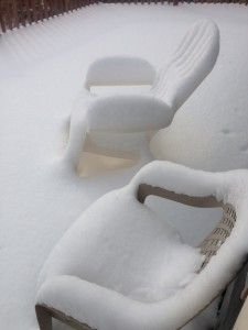 5. Snow Chairs