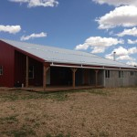 Ravenrock Barn Exterior with Porch & Croft