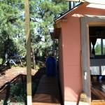 Ravenrock Rim Cabin water barrel