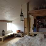 Croft Interior Bed & Bench