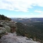 Rim, Canyon Floor, Distant Mesa