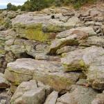 Rim Rocks with Lichen