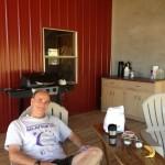 Ric on Hermit's Porch