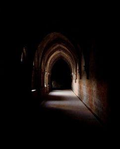 cloister-corridor