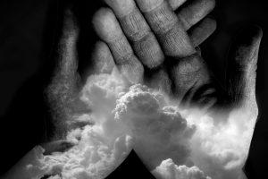hands & clouds