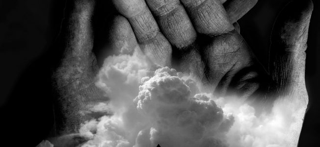 hands & clouds