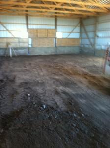 Leveling Barn Floor